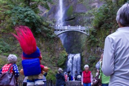Swag Multnomah Falls