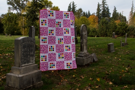Quilt side view