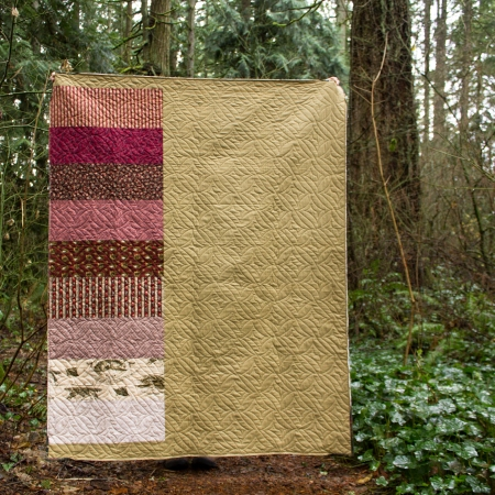 Tree Quilt Back