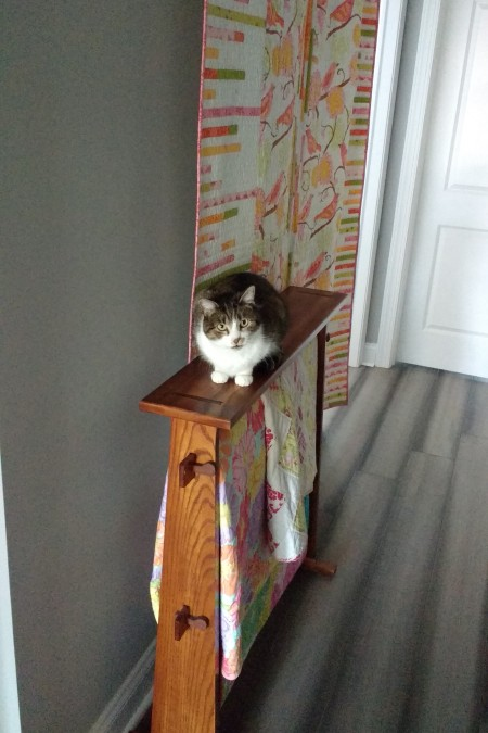 IMG_20180414_095813200 Bonnie on Quilt Stand